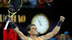 Nadal-Tsitsipas y Kvitova-Collins, primeras semifinales para ambos cuadros