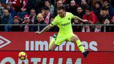 Girona-Barcelona: 0-2. Messi sentencia a un Girona con diez