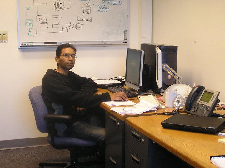 Suman trabaja en el área de la informática en Estados Unidos. (Créditos: foto cortesía de S. Srinivasan)