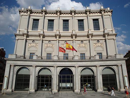 Teatro Real en Madrid, España. (losmininos/Wikipedia Commons/CC BY-SA 2.0)
