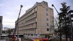 Un herido por una espectacular explosión accidental en la Universidad de Lyon