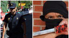 La gran actitud compasiva de un oficial de policía hacía un hombre con un cuchillo se vuelve viral