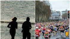 Maratonista ciego encuentra el amor de su vida en una mujer que corre a su lado como su guía