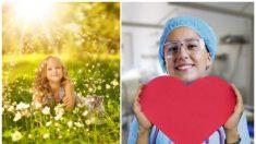 """Enfermeras le cantan """"Libre soy"""" de Frozen a una niña enferma de cáncer en la sala de quimioterapia"""