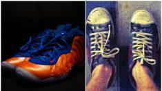 Una amable mujer ve a un hombre pobre que desea comprar un par de zapatillas y le concede su deseo