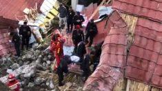 Se derrumba pared durante una boda matando al menos a 15 personas en Perú