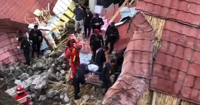 Foto de bomberos del Perú vía Storyful.