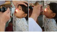 Médico queda perplejo al extraer a niña dolorida un gusano negro y gordo de la nariz