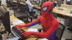 """""""¡Me despido a lo grande!"""", dijo Hombre Araña en su último día de trabajo en Brasil"""
