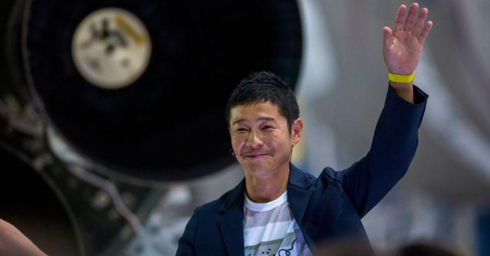 El multimillonario japonés Yusaku Maezawa. (Foto de DAVID MCNEW/AFP/Getty Images)