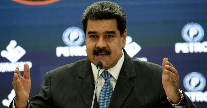 El dictador de Venezuela, Nicolás Maduro, el 1 de octubre de 2018. (FEDERICO PARRA/AFP/Getty Images)