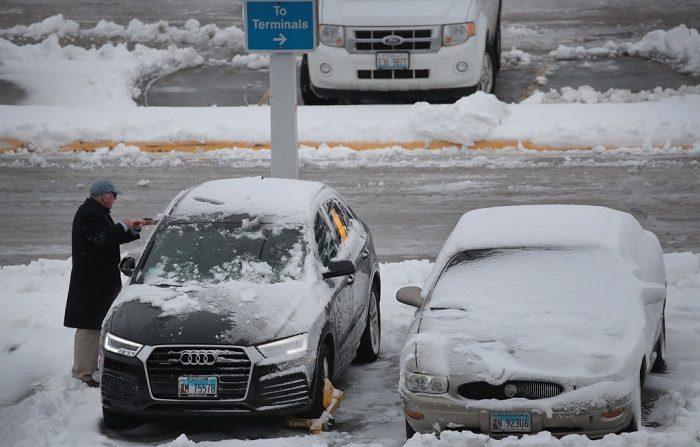 Chicago tendrá temperatura más baja que algunas zonas del Everest o la Antártida (Photo by Scott Olson/Getty Images)