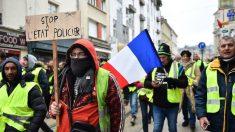 """""""Chalecos amarillos"""" mantienen la presión en Francia contra Macron por octava semana consecutiva"""