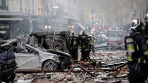Al menos 4 muertos y casi 50 heridos en explosión en el centro de París