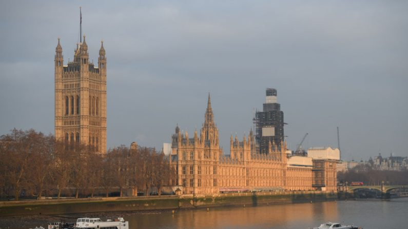 Vista general de las Casas del Parlamento el 21 de enero de 2019 en Londres, Inglaterra. (Leon Neal / Getty Images)