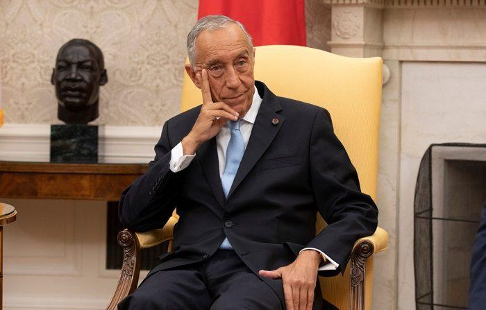 El presidente de Portugal, Marcelo Rebelo de Sousa. (Foto de Alex Edelman - Pool/Getty Images)