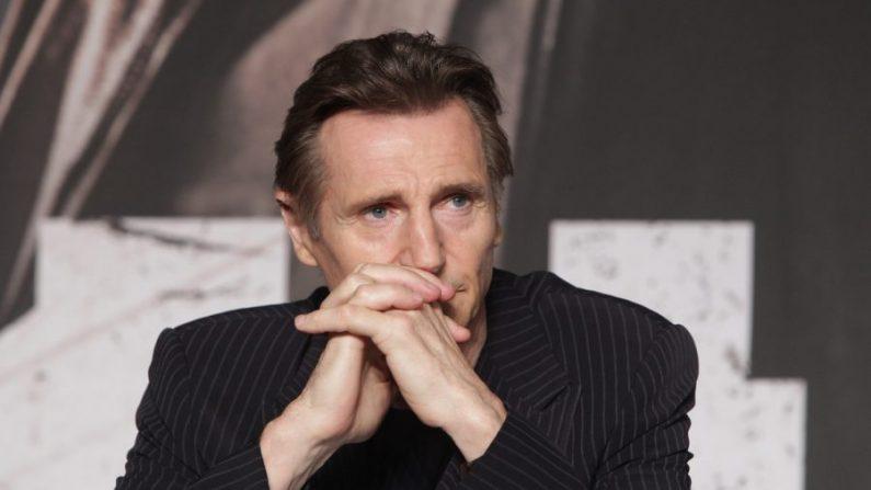 Liam Neeson asiste a la conferencia de prensa de 'Operación Chromite' en Seúl, Corea del Sur, 13 de julio de 2016. (Chung Sung-Jun/Getty Images).