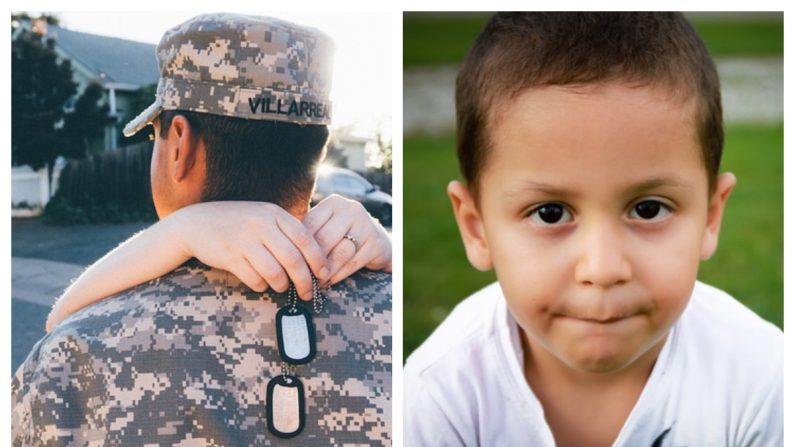 Los gritos de emoción de este niño cuando papá vuelve a casa tocarán tus fibras más sensibles