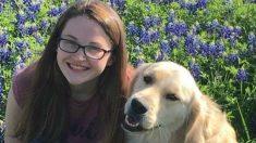 """Asesinan de un tiro al perro de asistencia de una joven diabética: """"era mi mejor amigo"""""""