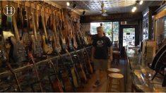 Esta famosa tienda fabrica guitarras con restos de la antigua ciudad de Nueva York