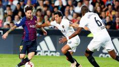 Fútbol Copa del Rey: Solari prefiere un clásico con Messi en el campo