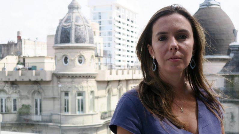 Elisa Trotta, representante diplomática en Argentina del presidente encargado de Venezuela, Juan Guaidó, en Buenos Aires, Argentina. (EFE)