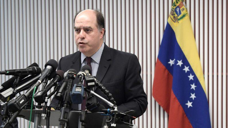 Julio Borges, representante ante el Grupo de Lima del presidente encargado venezolano, Juan Guaidó. EFE/Archivo