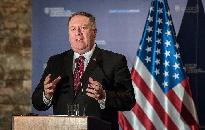 El secretario de Estado de EEUU, Mike Pompeo, expresó este martes en Bratislava su esperanza en que todos los gobiernos retiren su apoyo al presidente de Venezuela, Nicolás Maduro, para dárselo al opositor Juan Guaidó. efe