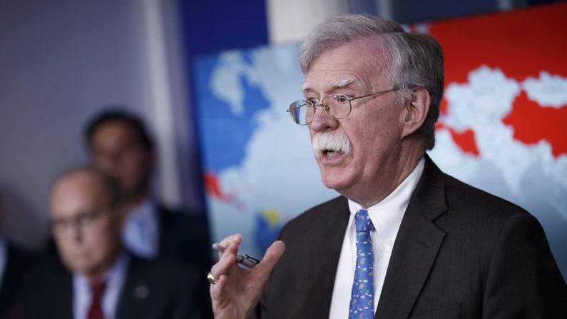 John Bolton, asesor de seguridad nacional de (EE.UU. EFE/Archivo)