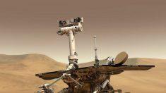 """La NASA da por """"muerto"""" al robot Opportunity que descubrió el agua en Marte"""