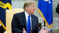 """Trump considera """"interesante"""" la propuesta de pagar el muro con dinero de El Chapo"""