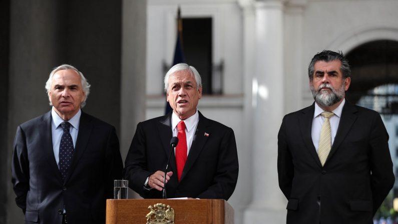 El presidente de Chile, Sebastián Piñera (c). EFE/Archivo