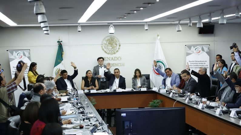 Senado mexicano aprueba en comisiones Guardia Nacional bajo mando militar. EFE