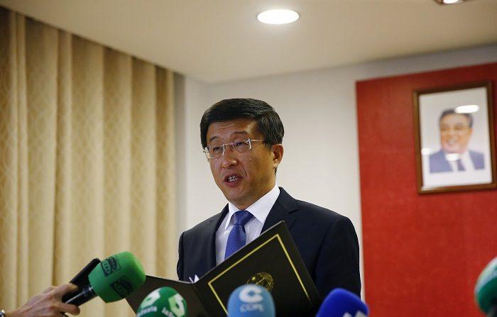 El interlocutor de Corea del Norte que lidera las negociaciones con EEUU, Kim Hyok-chol, despegó hoy desde Pionyang para dirigirse previsiblemente a Hanoi (Vietnam), donde la semana que viene tendrá lugar la cumbre entre ambos países.. EFE/J.P.GANDUL