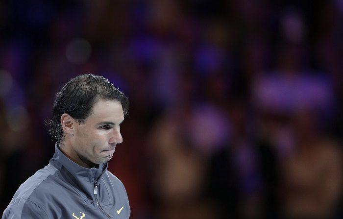 El español Rafael Nadal, segundo de la clasificación de la ATP, se enfrentará con el alemán Mischa Zverev en la primera ronda del Abierto Mexicano de tenis, que comenzará este lunes en Acapulco. EFE/EPA/LYNN BO BO