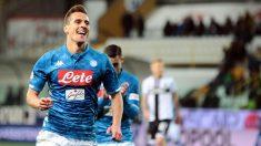 Milik iguala a Messi y coloca al Nápoles a 13 puntos del Juventus