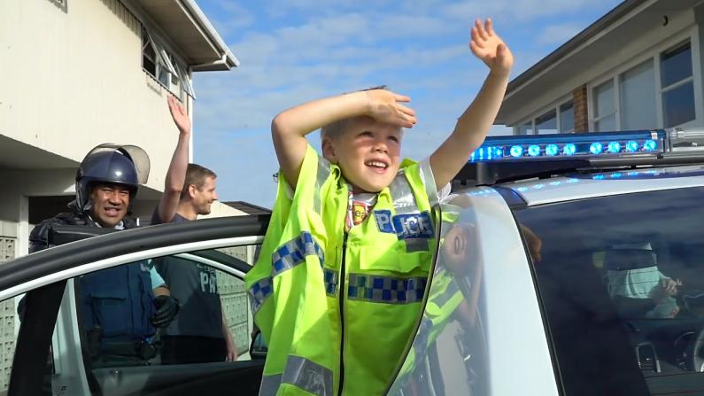 (Crédito: Cortesía policía de Nueva Zelanda/ Policía del Distrito de la ciudad de Auckland)