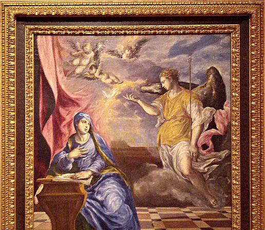 La Anunciación, del pintor El Greco, indica la llegada del Mesías Salvador al mundo. (Crédito: Wikimedia/CC-SA 4.0)