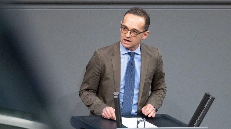 El ministro de Asuntos Exteriores alemán, Heiko Maas. (EFE/Hayoung Jeon)