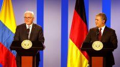 Presidente alemán dice que Juan Guaidó está en la posición
