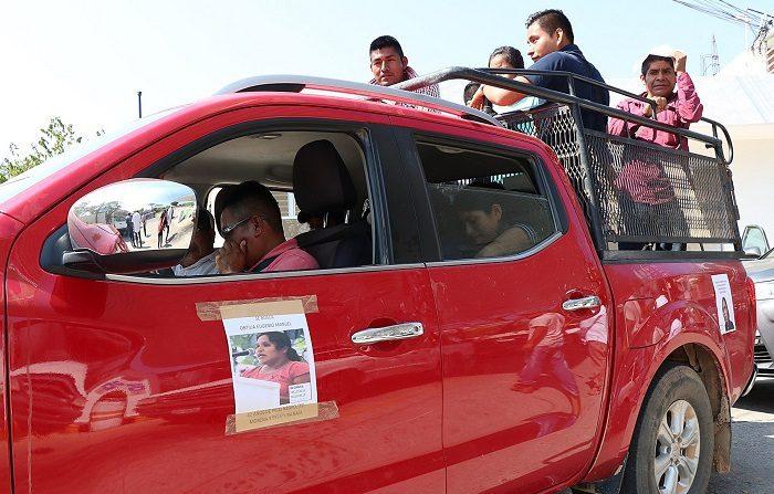 El estado mexicano de Guerrero ofreció 2 millones de pesos (103.734 dólares) de recompensa por datos para localizar a los activistas Obtilia Eugenio Manuel e Hilario Cornelio Castro, desaparecidos el 12 de febrero. EFE/Francisca Meza.