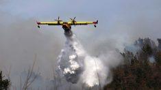 Cantabria España : luchan contra 50 incendios con el apoyo de la UME