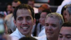 Guaidó llega al Venezuela Aid Live recibido por Almagro y los presidentes Duque, Piñera y Abdo