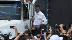 """Presidente Guaidó: """"Ya entró el primer cargamento de ayuda humanitaria"""" a Venezuela"""