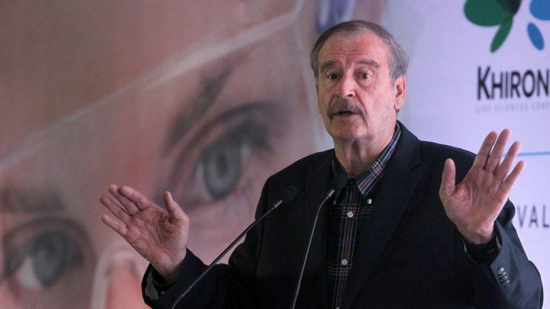 El expresidente mexicano Vicente Fox (2000-2006), el 28 de febrero de 2019 en Ciudad de México (México). EFE/Mario Guzmán