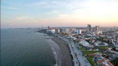 Sigue retrocediendo el mar en México, esta vez en Veracruz