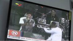 Sacan del aire en Venezuela a Antena 3 cuando transmitía concierto por ayudas