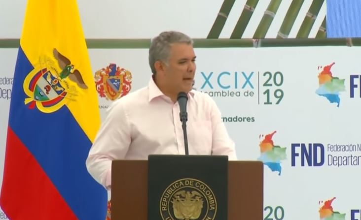 Ivan Duque el 1 de febrero de 2019 (Giobierno de Colombia)