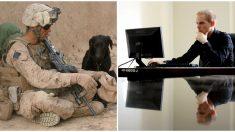 Cede su asiento de primera clase a un soldado y 6 años después recibe un sorpresivo mensaje