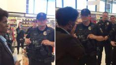 Mujer presenta una denuncia policial por robo y se quiebra cuando la policía aparece con un sobre